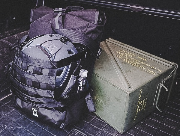 Chrome Industries Barrage Cargo Backpack Review G 63 Trunk With Ammo Can