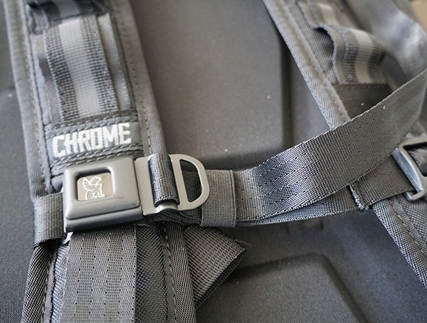 Chrome Industries Barrage Cargo Backpack With Quick Release Plate Buckle