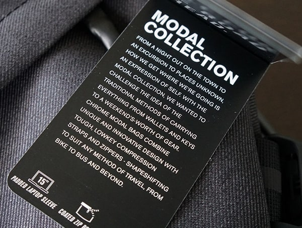 Chrome Industries Modal Collection Tag