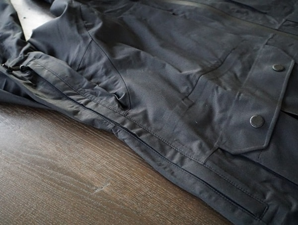 Chrome Industries Storm Seeker Shell Ms Breathable Air Vents On Side Of Jacket