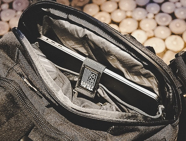 Chrome Industries Summoner Backpack Secured Laptop Velcro Field Test