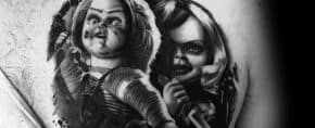 80 Chucky Tattoo Ideas For Men – Horror Movie Designs
