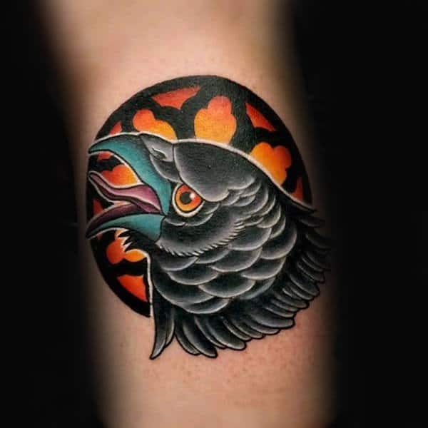crow tattoo 10