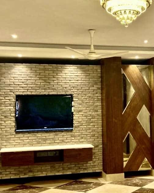 cinder block basement wall ideas creations_gurgaon