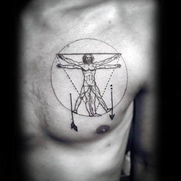 90 Minimalist Tattoo Designs For Men - Simplistic Ink Ideas