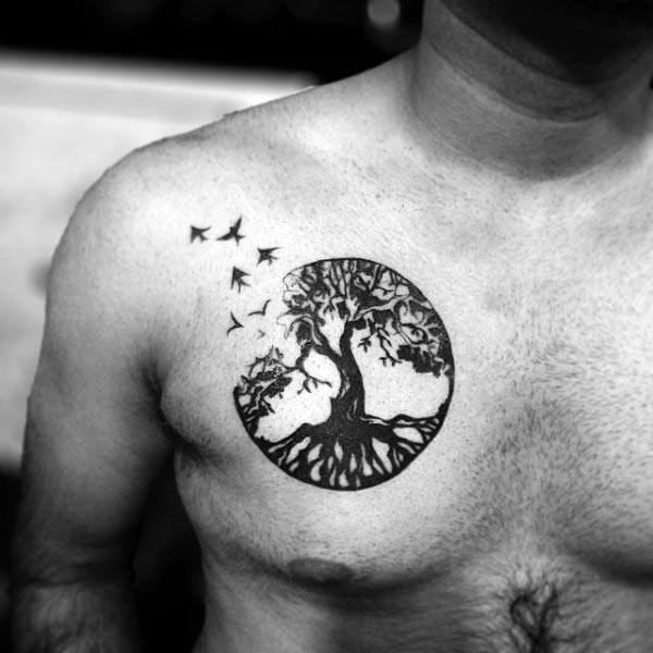 f5265de16 100 Tree Of Life Tattoo Designs For Men – Manly Ink Ideas