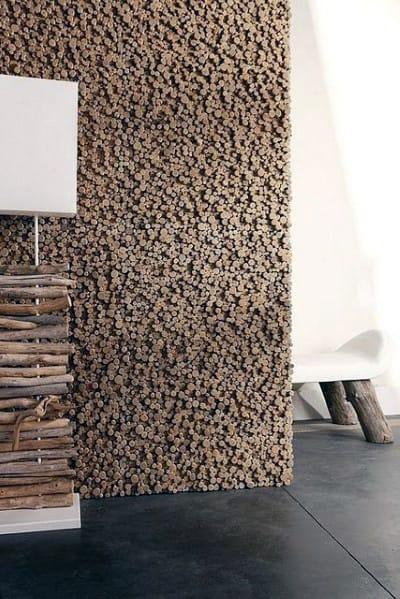 Circular Wood Architectural Wood Wall Ideas