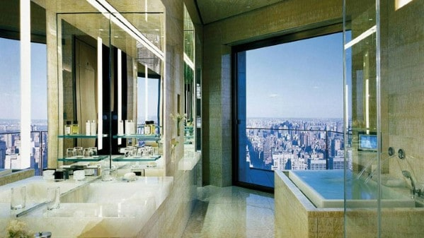 City Bathroom View