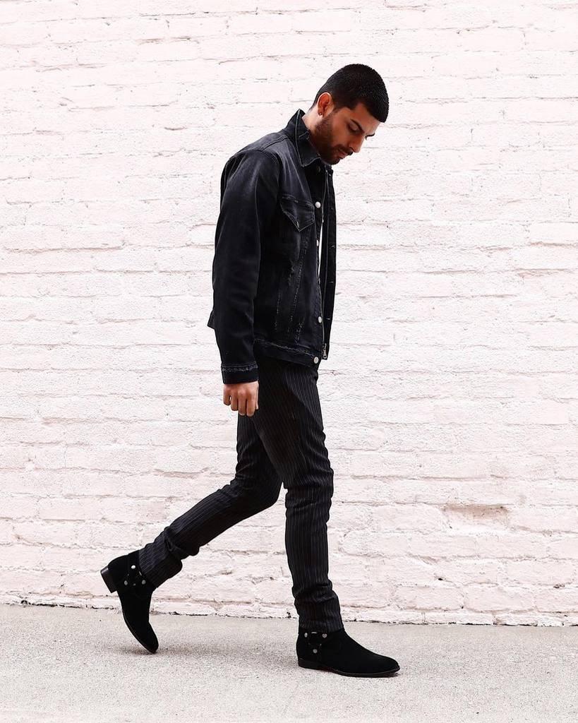 Veste en jean style ville