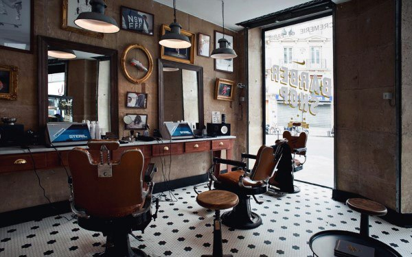 Classic Barber Shop Designs