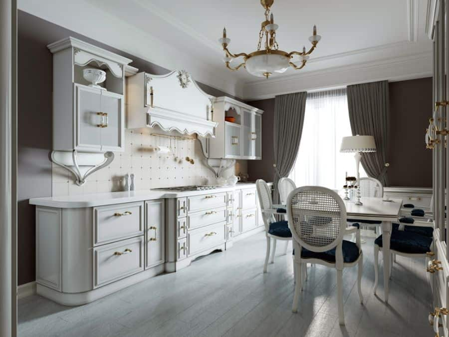 Classic Cabinetry French Country Kitchen 5