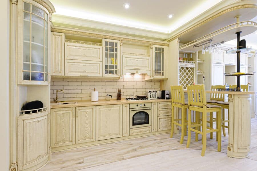 Classic Cabinetry French Country Kitchen 6