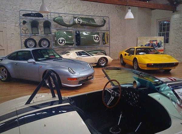 Classic Car Collector Dream Garage