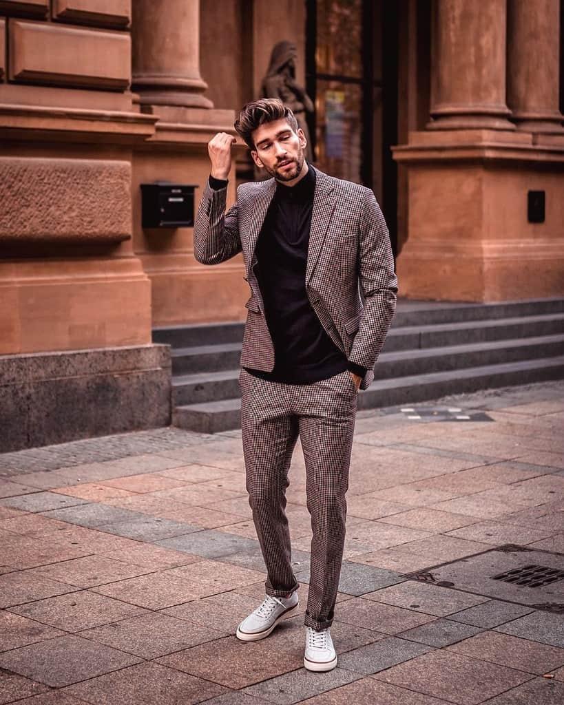 Classic Cotton Suit Men Style
