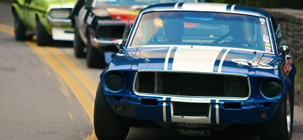 Classic Ford Mustang Car