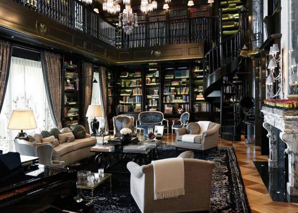 Classic Home Libraries Inspiration
