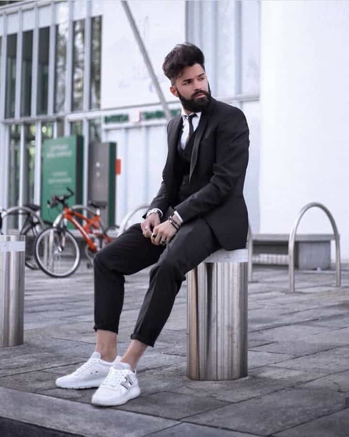 Classic Mens Suit Outfit