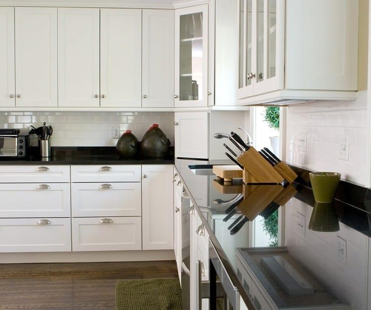 Classic Modern Corner Kitchen Cabinet