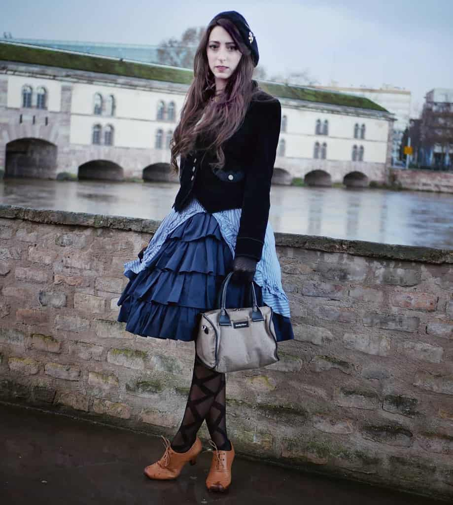 Classic Victorian Style Dress
