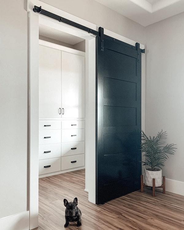 Classsic Modern Closet Barn Door