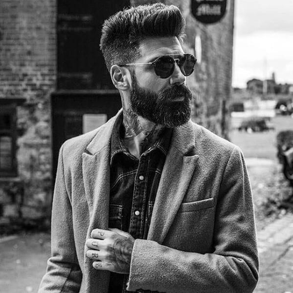 Classy Beard Style Idea On Man