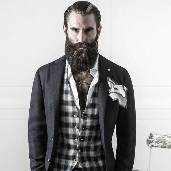 Classy Beard Styles Male