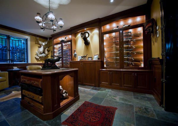 Classy Gun Room Design Inspiration For Men