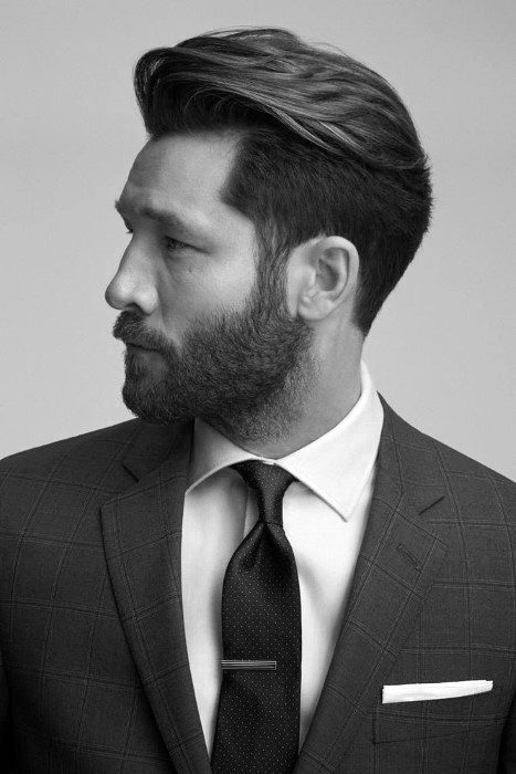 Classy Guys Professional Business Hairstyles For Thick Hair