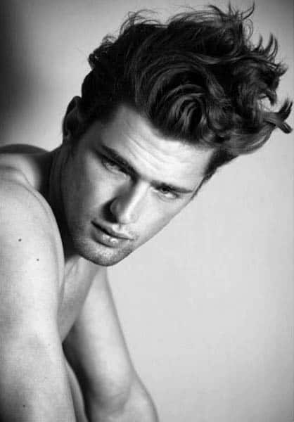 Classy Hairstyles For Long Curly Hair For Men