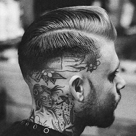 40 Hard Part Haircuts For Men Sharp Straight Line Style