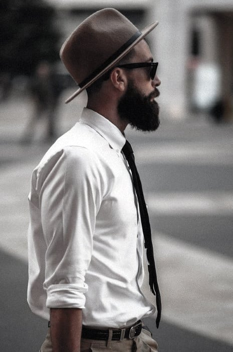 Classy Medium To Long Beard Style Ideas For Black Men