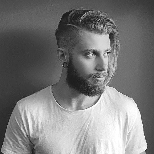 Amazing Classy Men Hairstyles For Long Hair