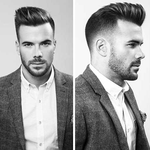 Classy Modern Men Hairstyle