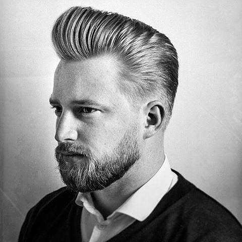 Pompadour Haircut For Men 50 Masculine Hairstyles
