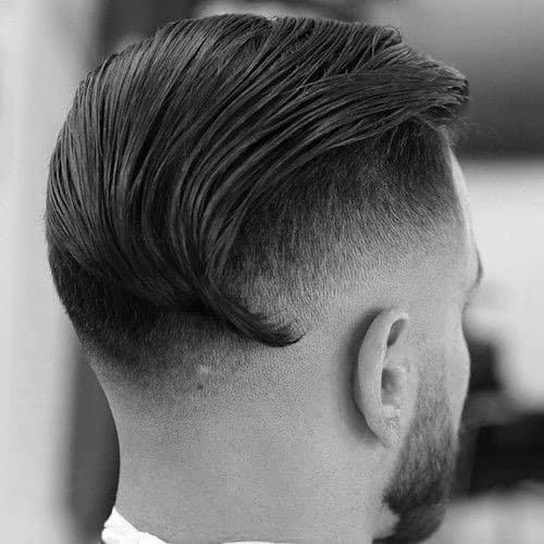 Classy Slicked Back Undercut Hair For Gentlemen