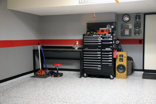 50 Garage Paint Ideas For Men - Masculine Wall Colors And ... on Garage Color Ideas  id=78684