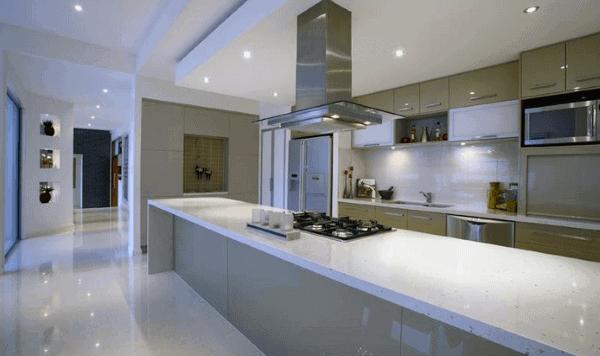 Clean Ultra Modern High Gloss Kitchen Designs