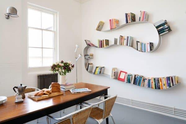 Clever Bookshelf Ideas