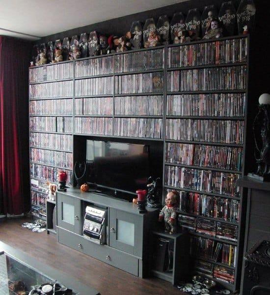 Clever Dvd Storage