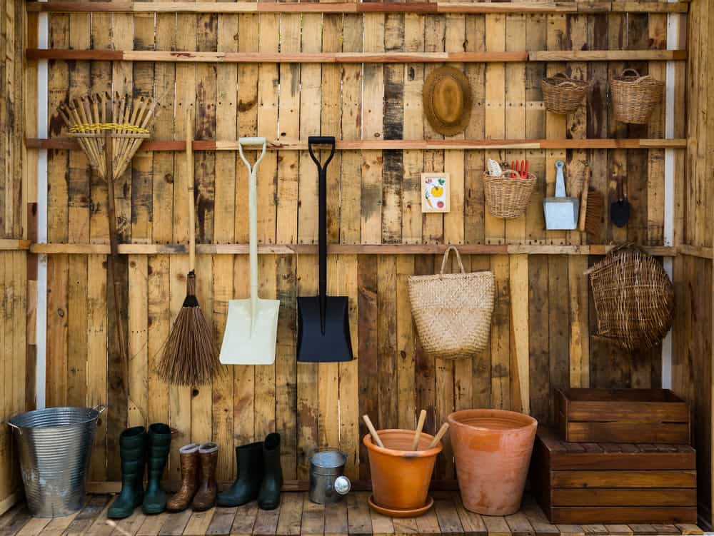 clever shed storage ideas 1