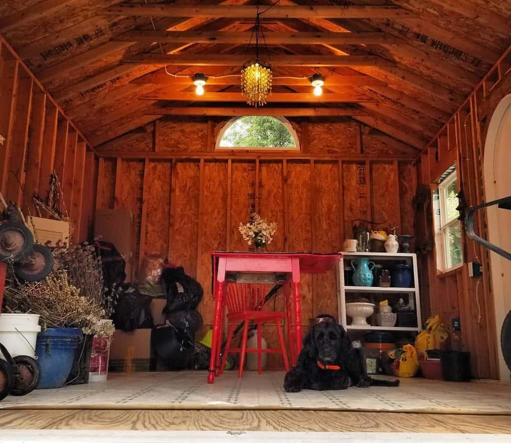 clever shed storage ideas mossonglandfarm