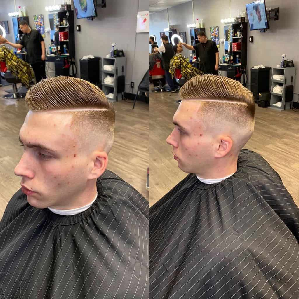 Clipper Comb Hairstyle