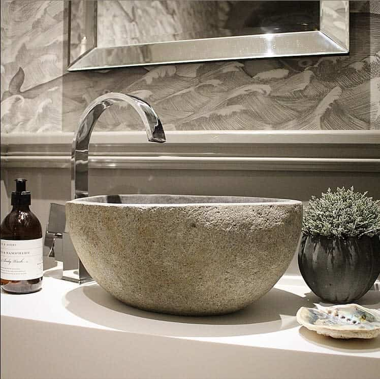 Cloak Room Sink Shelf Jomiltoninteriors