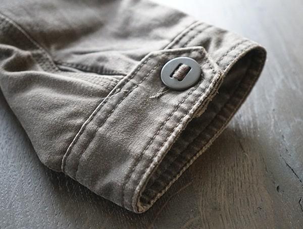 Closed Button Wrist Cuff Dakota Grizzly Tripp Travel Coat For Men