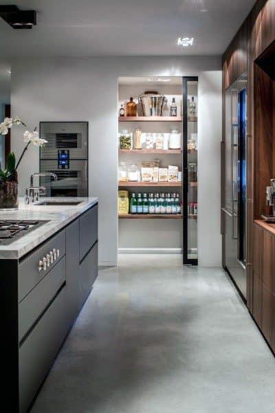 Closet Glass Door Kitchen Pantry Ideas