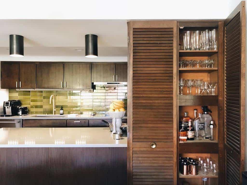 closet liquor cabinet ideas dkealoha