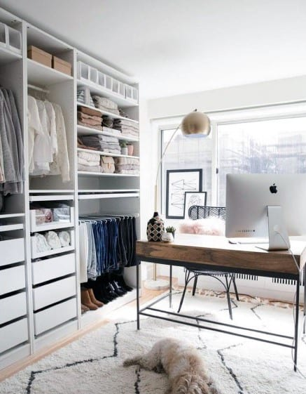 Closet Office Cool Interior Ideas