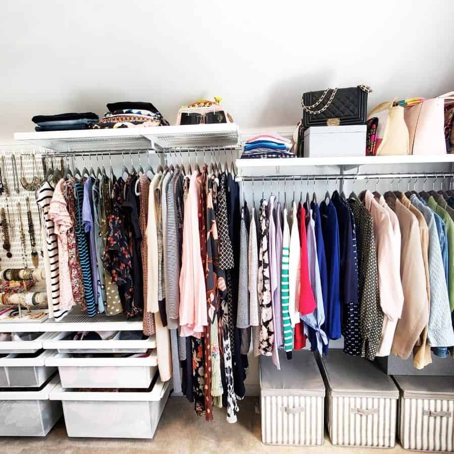 budget bedroom closet ideas