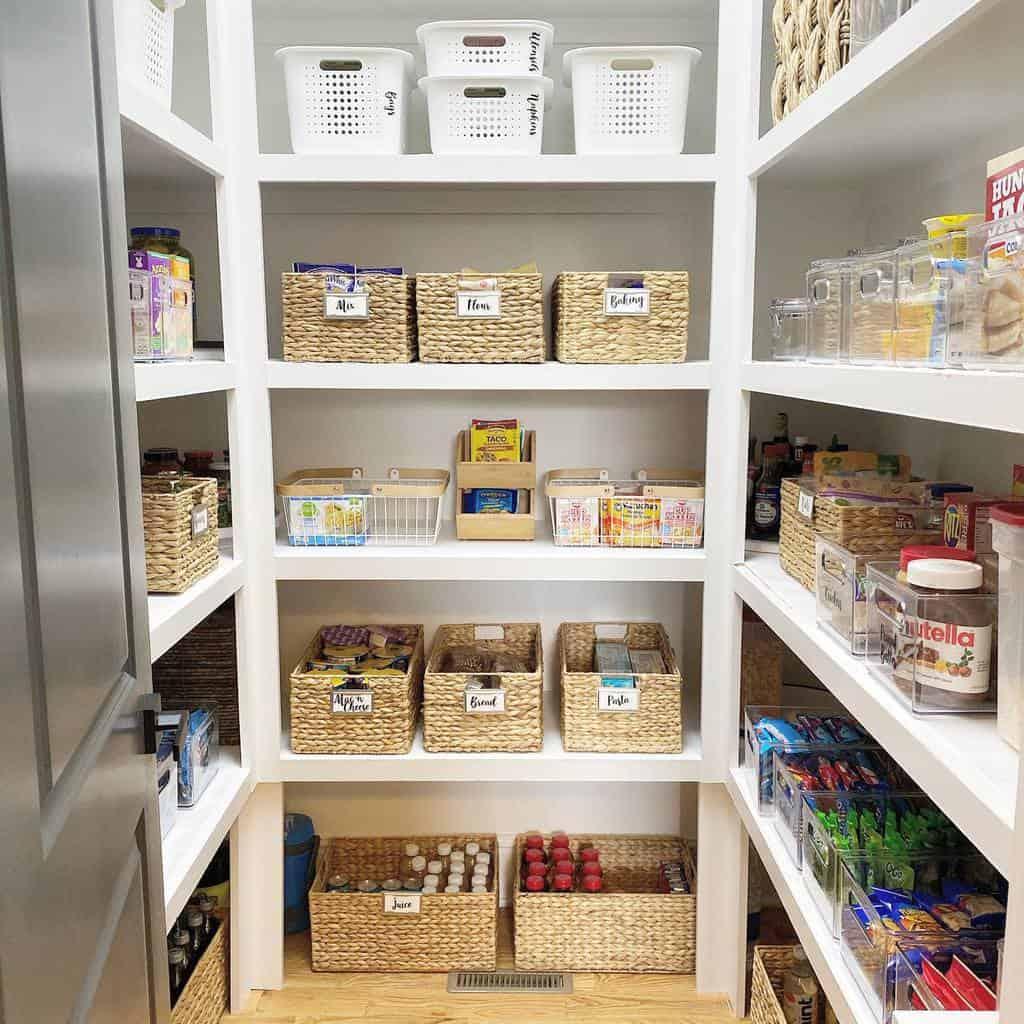 closet small pantry ideas lessisliving