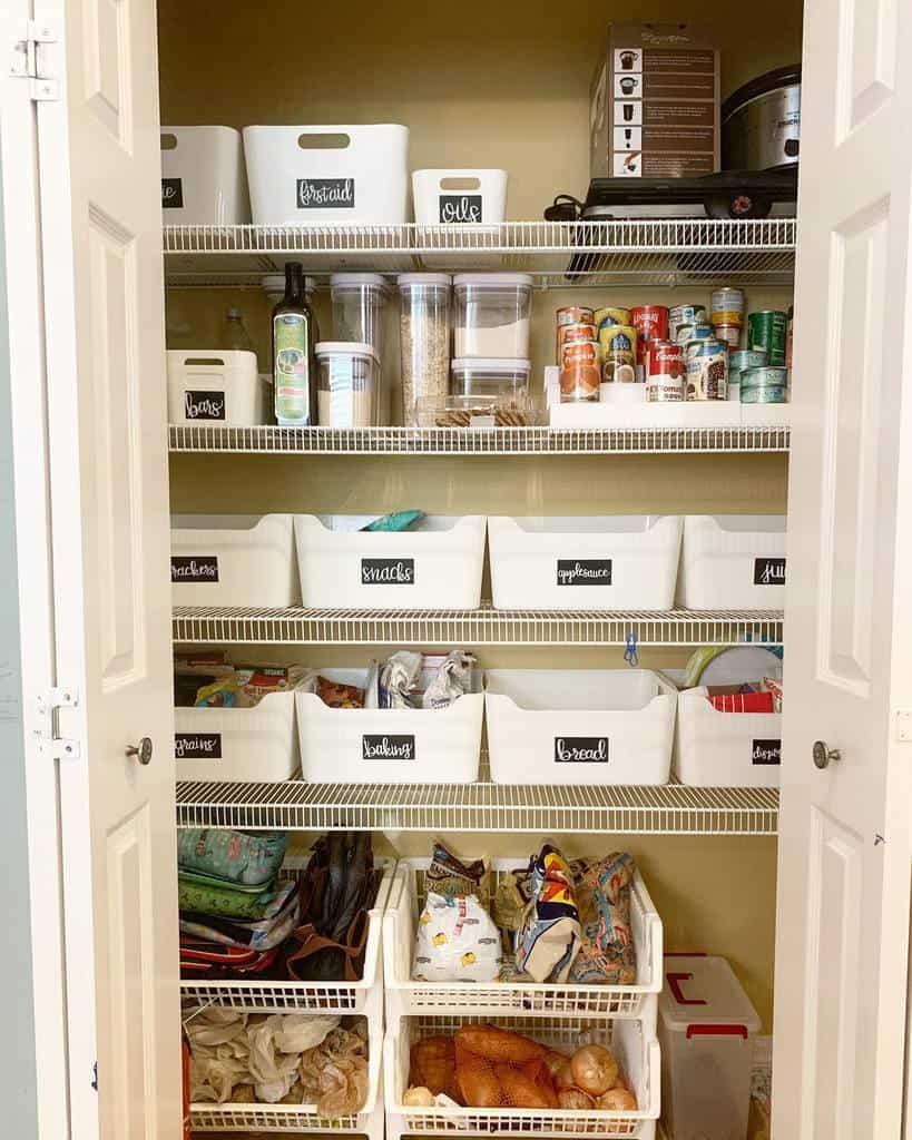closet small pantry ideas tidyupsarah